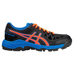 Chaussures de hockey adolescent intensité forte Gel Peak noir orange