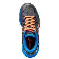 Chaussures de hockey adolescent intensité forte Gel Peak noir orange