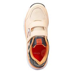 Chaussures de hockey sur gazon enfant intensité faible Fix And Go rose noir