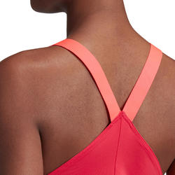Fitnesstop voor cardiotraining voor dames roze