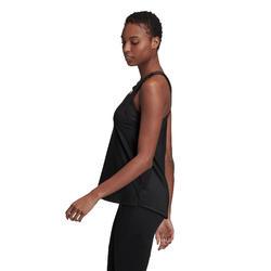 Débardeur cardio fitness femme noir