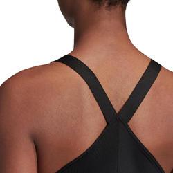 Fitnesstop voor cardiotraining voor dames zwart
