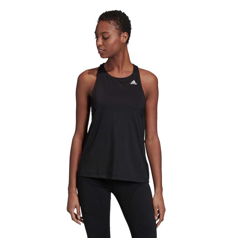 Fitnesz Cardio Női ruházat kezdő Fitnesz - Női ujjatlan felső ADIDAS  ADIDAS - Fitnesz