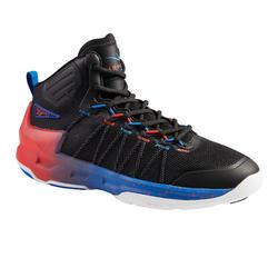 Men's Basketball Shoes Shield 500 - Black/Red/Blue
