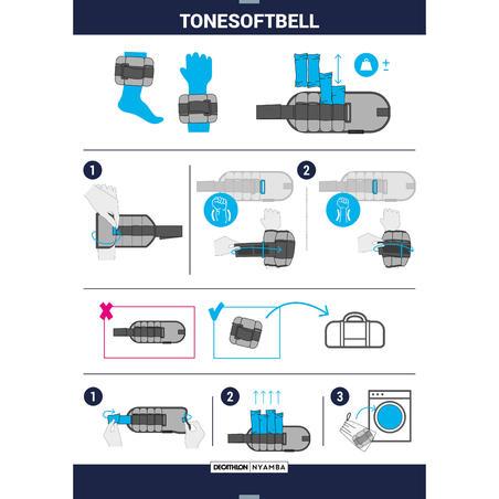 ToneSoftBell 2 x 500g to 2 kg