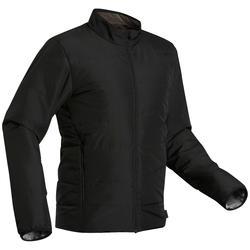 Gewatteerde jas voor trekking heren Trek 50 zwart