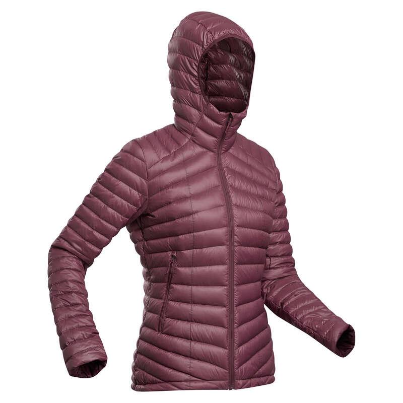 Női trekking kabát Túrázás - Női túrakabát Trek 100 FORCLAZ - Női túraruházat