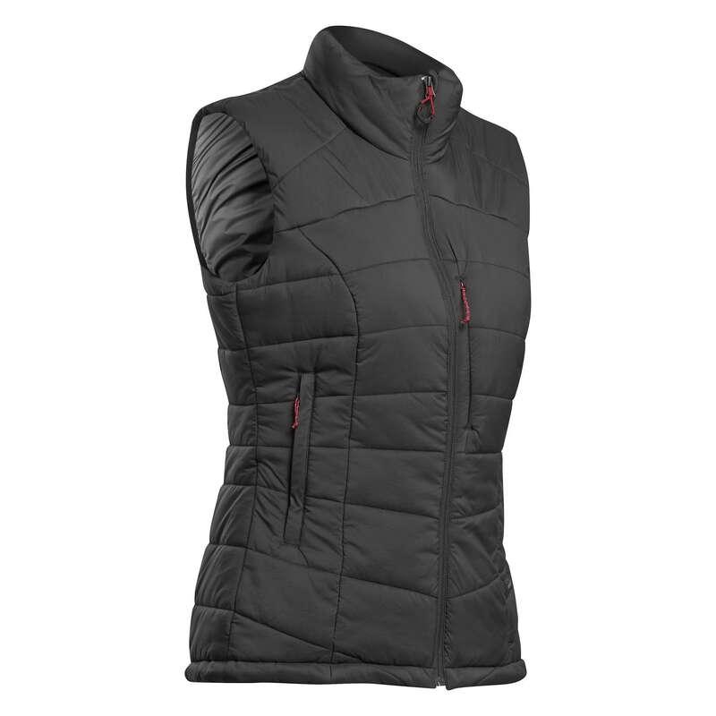 Női trekking kabát - Női túramellény Trek 500 FORCLAZ