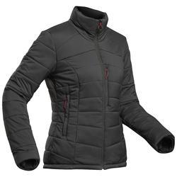 Gewatteerde damesjas voor bergtrekking Trek 500 -10°C zwart