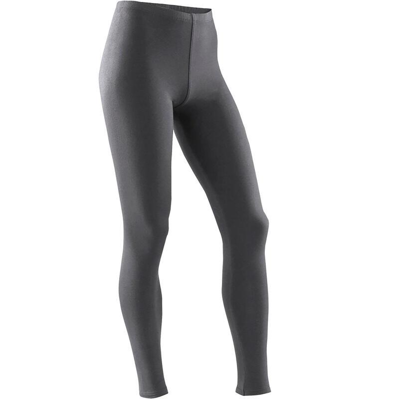 Girls' Gym Leggings 100 - Grey
