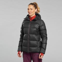 Doudoune de trek en montagne TREK 900 Duvet Noir - Femme