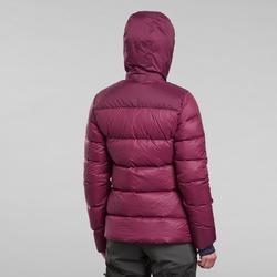Doudoune de trek en montagne - TREK 900 Duvet violet - Femme