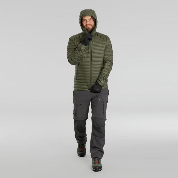 Ademende handschoenen voor bergtrekking volwassenen Trek 500