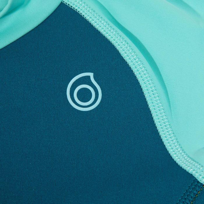 Top thermique néorpène 100 manches courtes Junior turquoise
