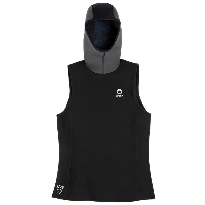 SCD Scuba Diving 3/2mm Hooded Top