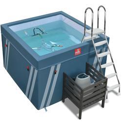 Op zichzelf staand bassin voor aquafitness