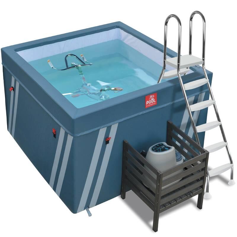 PLAVKY A VYBAVENÍ NA AQUAGYM, AQUABIKE Aqua aerobic, aqua fitness - BAZÉNEK FIT'S POOL WATERFLEX - Doplňky na aquafitness
