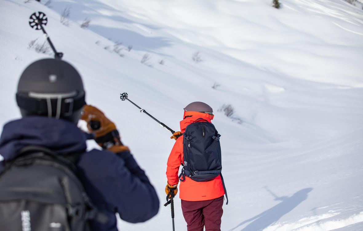 Découvrir le ski freeride