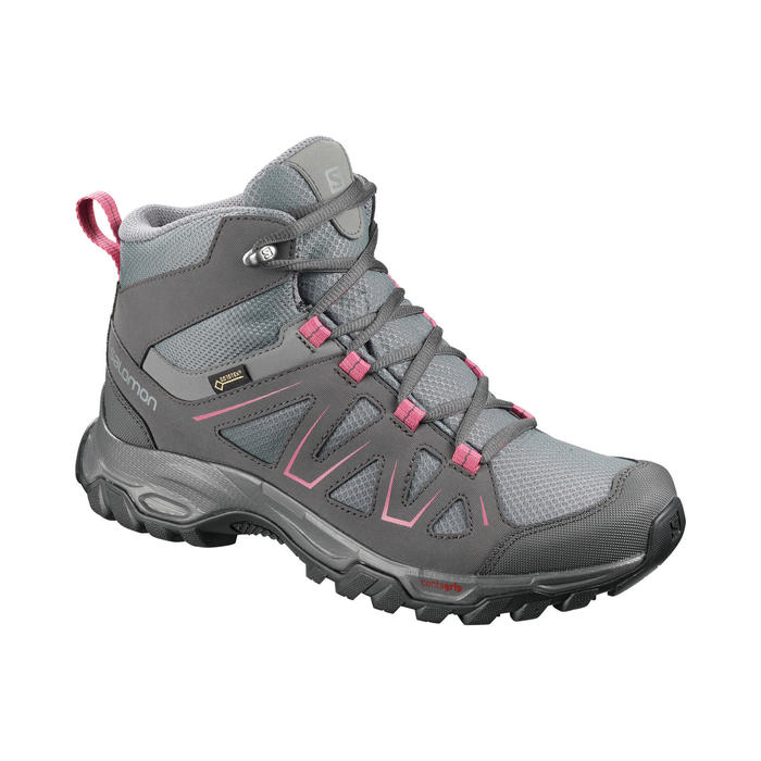 Waterdichte schoenen voor bergwandelen dames Tibai mid GTX