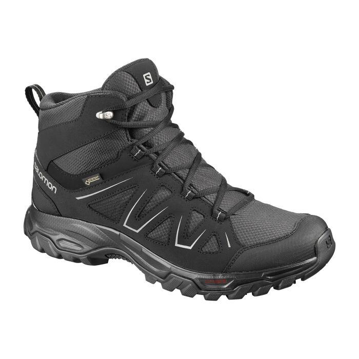 Salomon Tibai Men's Waterproof Gore-Tex Walking Boots - Black