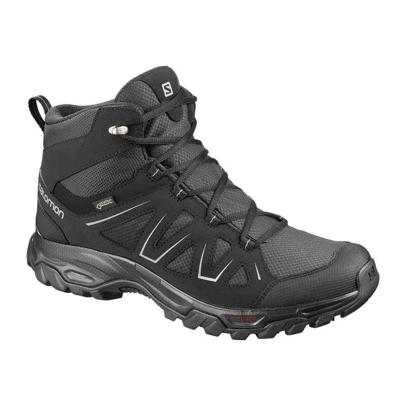 PÁNSKÉ BOTY NA HORSKOU TURISTIKU Turistika - KOTNÍKOVÉ BOTY TIBAI GTX  SALOMON - Turistická obuv