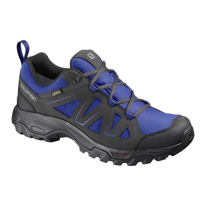 Salomon Tibai Men's Waterproof Gore-Tex Walking Boots - Black/Blue