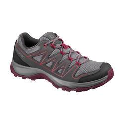 Salomon Tibai Women's Waterproof Walking Boots - Grey/Red