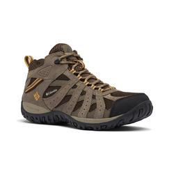 Waterdichte schoenen voor bergwandelen heren Cordovan mid