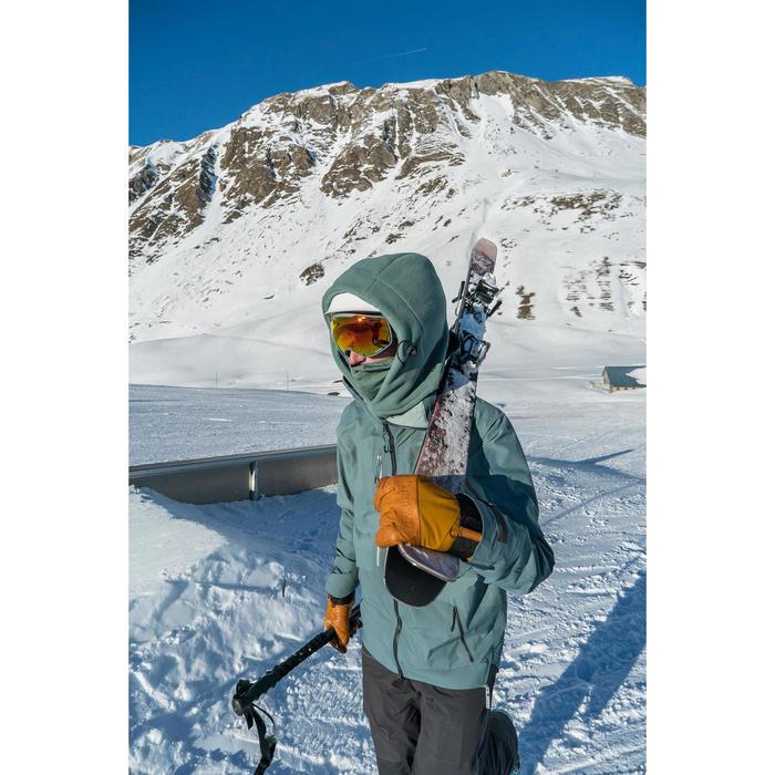 MASQUE DE SKI ET DE SNOWBOARD ENFANT ET ADULTE G 900 PH TOUS TEMPS GRIS