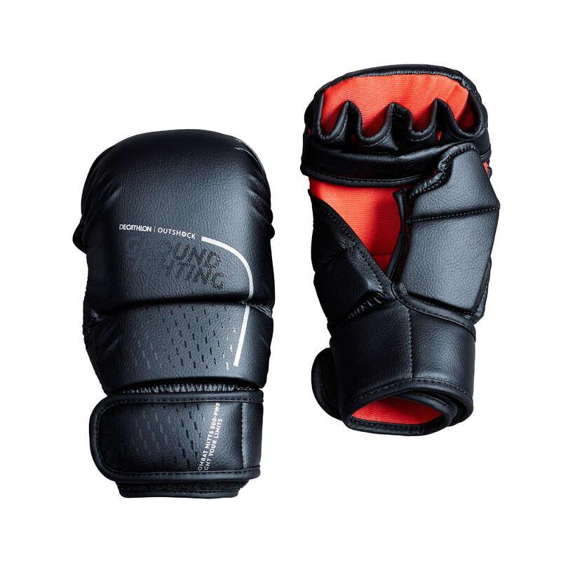BOXKESZTY# Box és harcművészet - Grappling kesztyű 500 OUTSHOCK - Védőfelszerelés