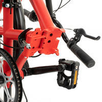 """Складной велосипед 20"""" Tilt 120 красный"""