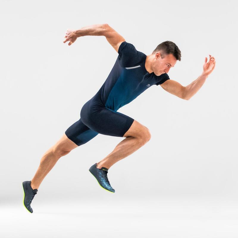 Combinezon Atletism Albastru Bărbați