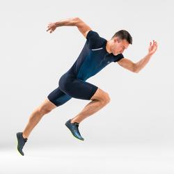 Sportanzug Leichtathletik Herren blau