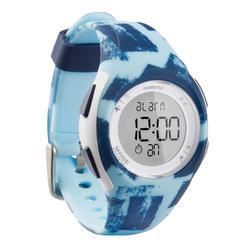 W200 S MEN'S RUNNING STOPWATCH - LIGHT BLUE