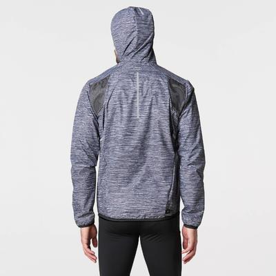 RUN RAIN men's running jacket grey