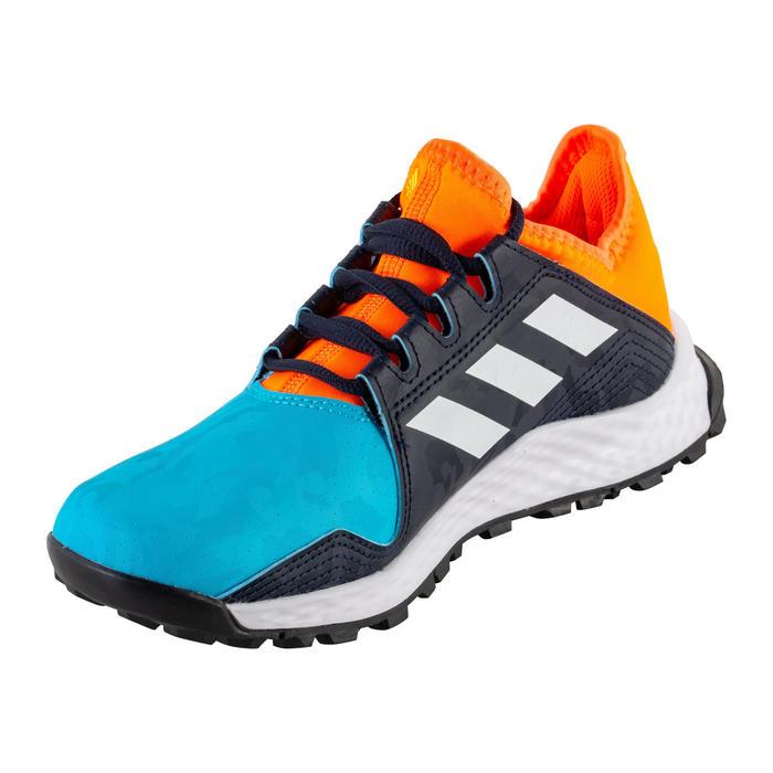 Chaussures de hockey adolescent intensité moyenne youngstar bleu orange