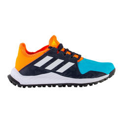 Chaussures de hockey adolescent intensité moyenne youngstar bleu orange