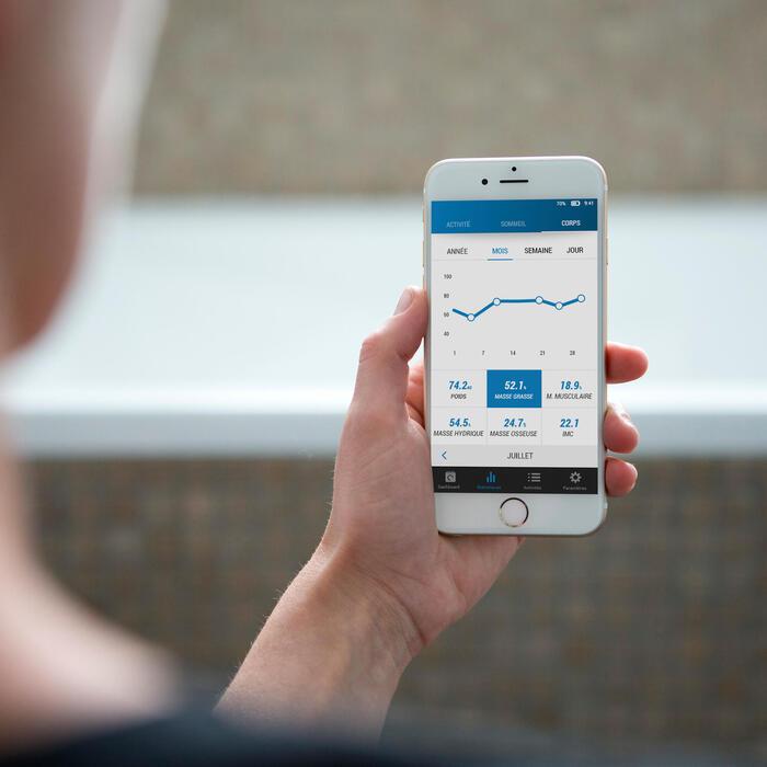 Personenwaage Körperanalyse Online Scale 700