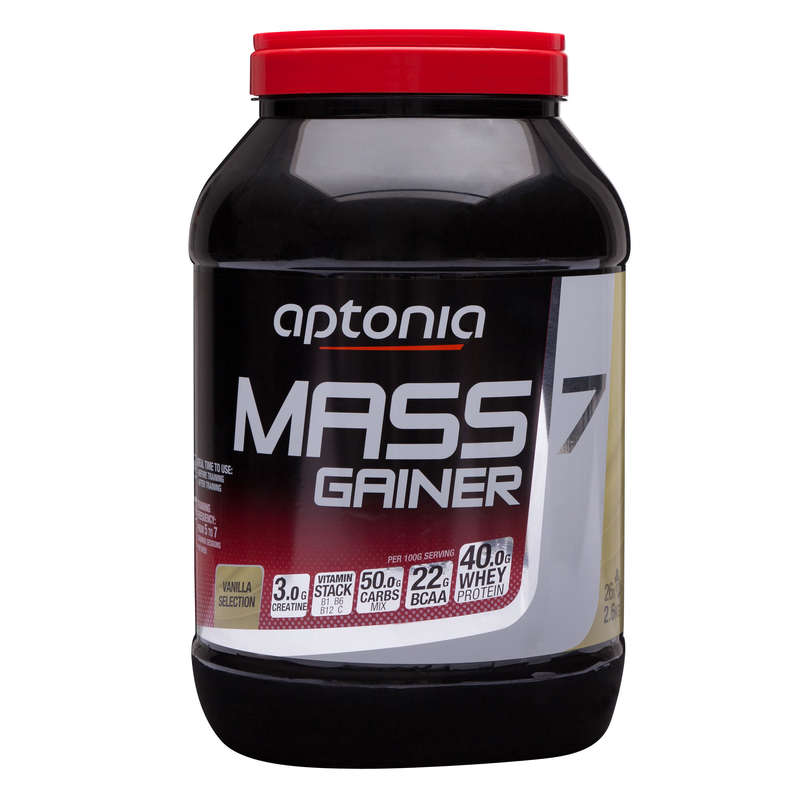 PROTEINS AND SUPPLEMENTS Supplements - Mass Gainer 7 Vanilla 2.6kg APTONIA - Supplements