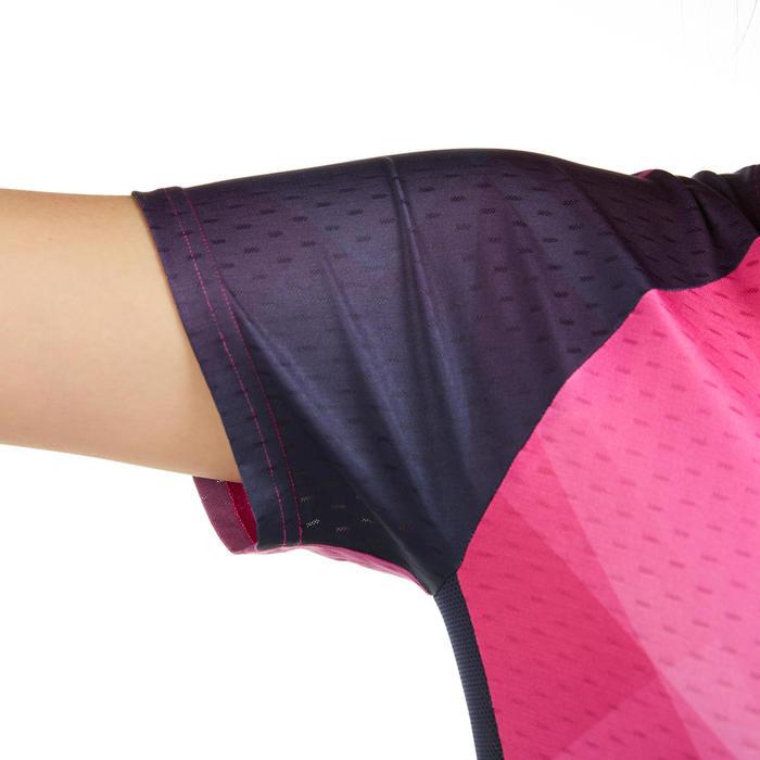 T-Shirt 560 Femme - Rose/Marine