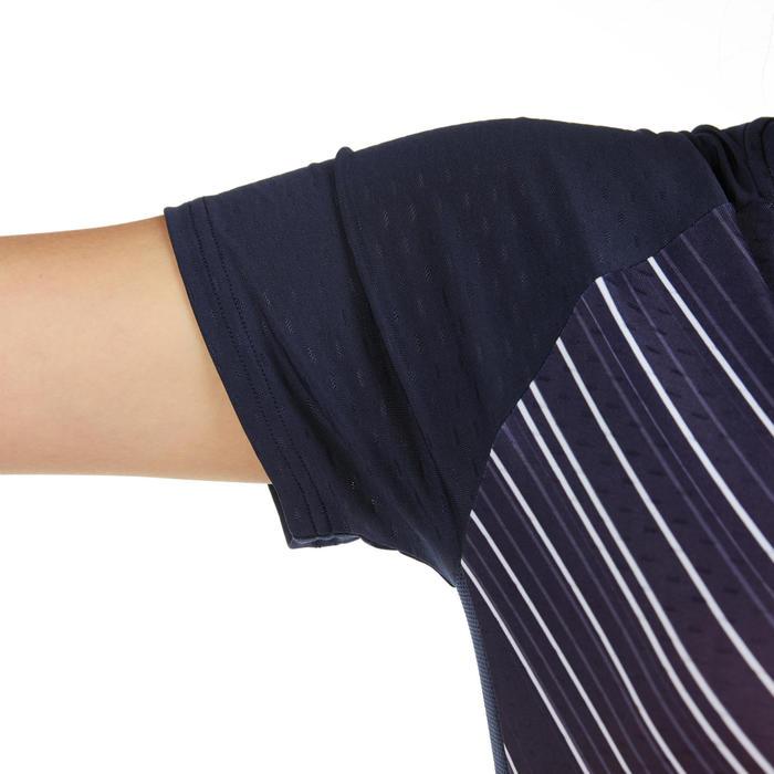 T-Shirt Femme 560 - Blanc/Marine/Rouge