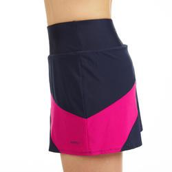 Jupe de badminton Femme 560 - Marine/Rose