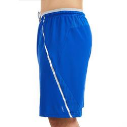 Badmintonshort voor heren 990 blauw