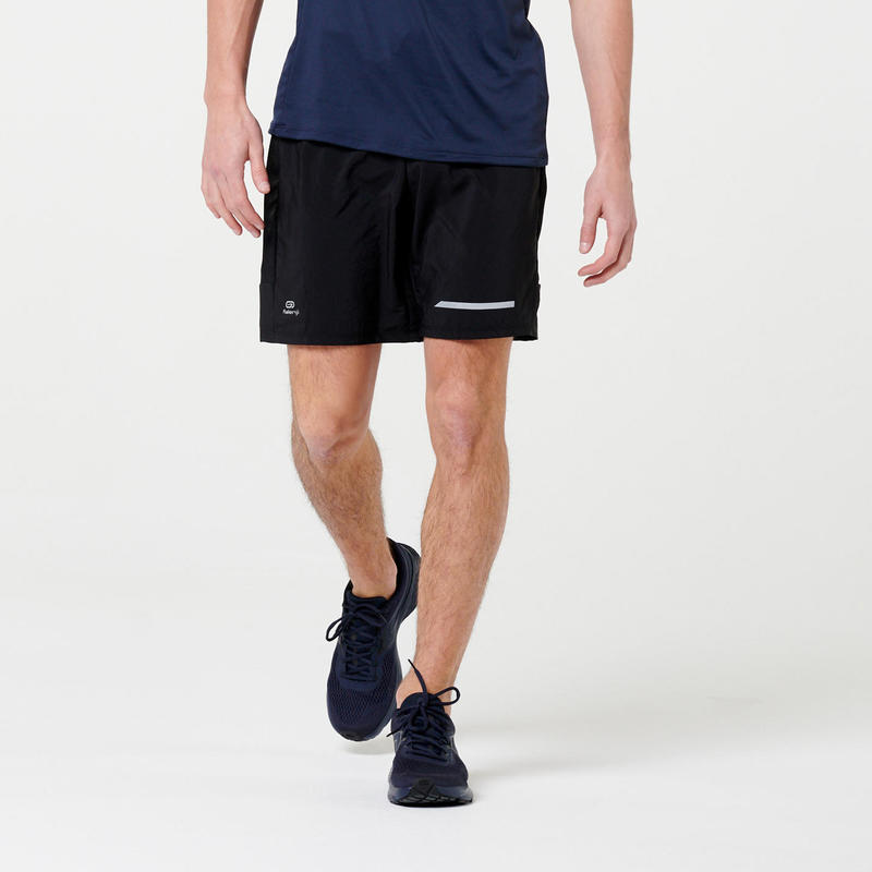 RUN DRY+ MEN'S RUNNING SHORTS BLACK