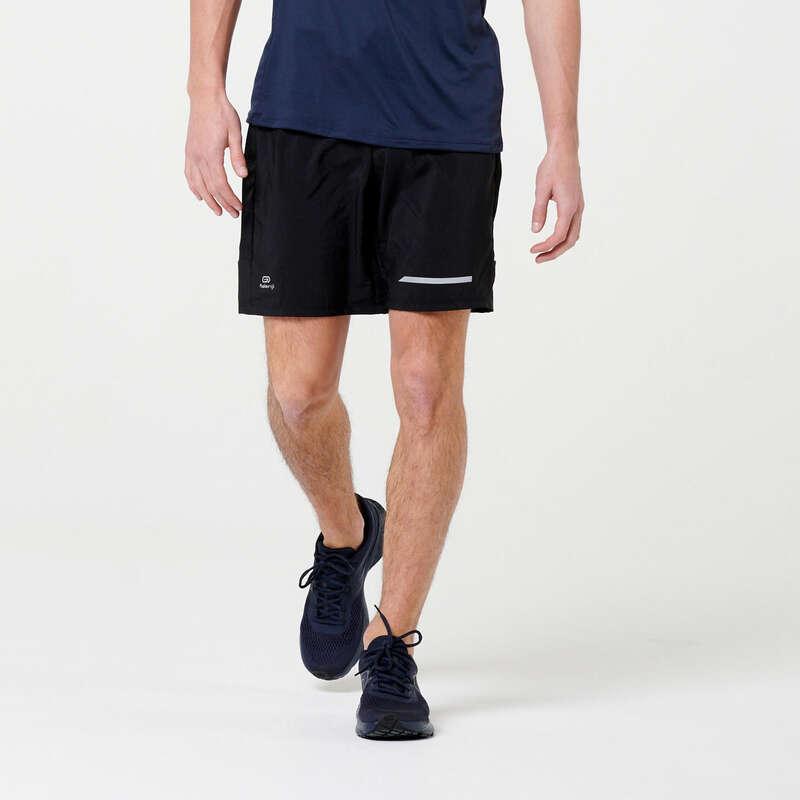 ERKEK DÜZENLİ KOŞU SICAK HAVA GİYİM Koşu - RUN DRY + ŞORT KALENJI - Erkek Koşu Kıyafetleri