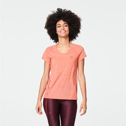 RUN LIGHT WOMEN'S T-SHIRT - TERRACOTTA ORANGE