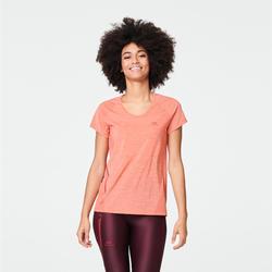 T-shirt voor dames Run Light oranje