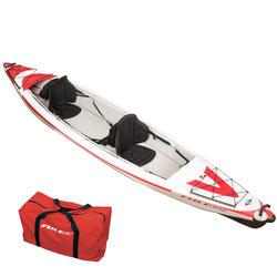 Opblaasbare kano kajak Yakkair BIC full hoge druk 2 personen