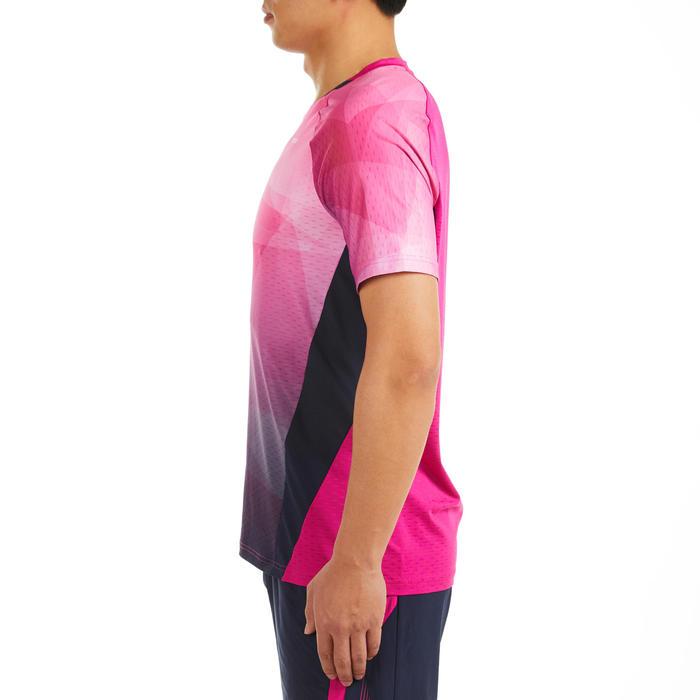 男款T恤560粉紅及軍藍配色