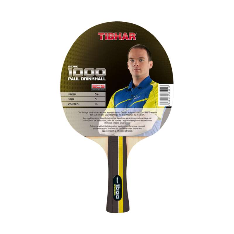 REKETI ZA STOLNI TENIS U ZATVORENOM Stolni tenis - Reket Tibhar Drinkhall 1000 TIBHAR - Stolni tenis
